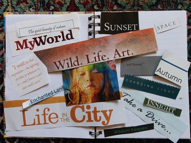 The Power Of Using A Vision Board
